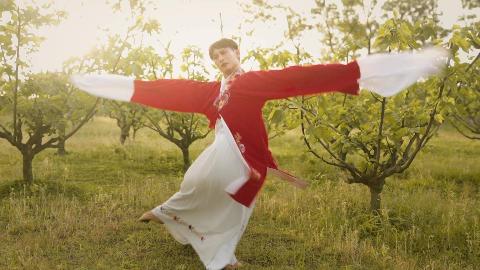 【俊红妆】一颗小葱 原创古风MV 三次元舞蹈 戏腔 角色反串