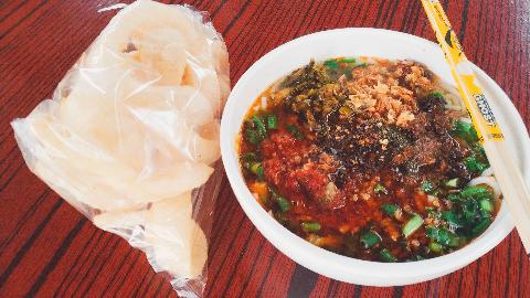 【粉王的早餐】——国庆节的小吃街
