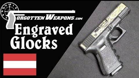 【被遗忘的武器/双语】精湛的奥地利工艺——雕花格洛克19手枪鉴赏