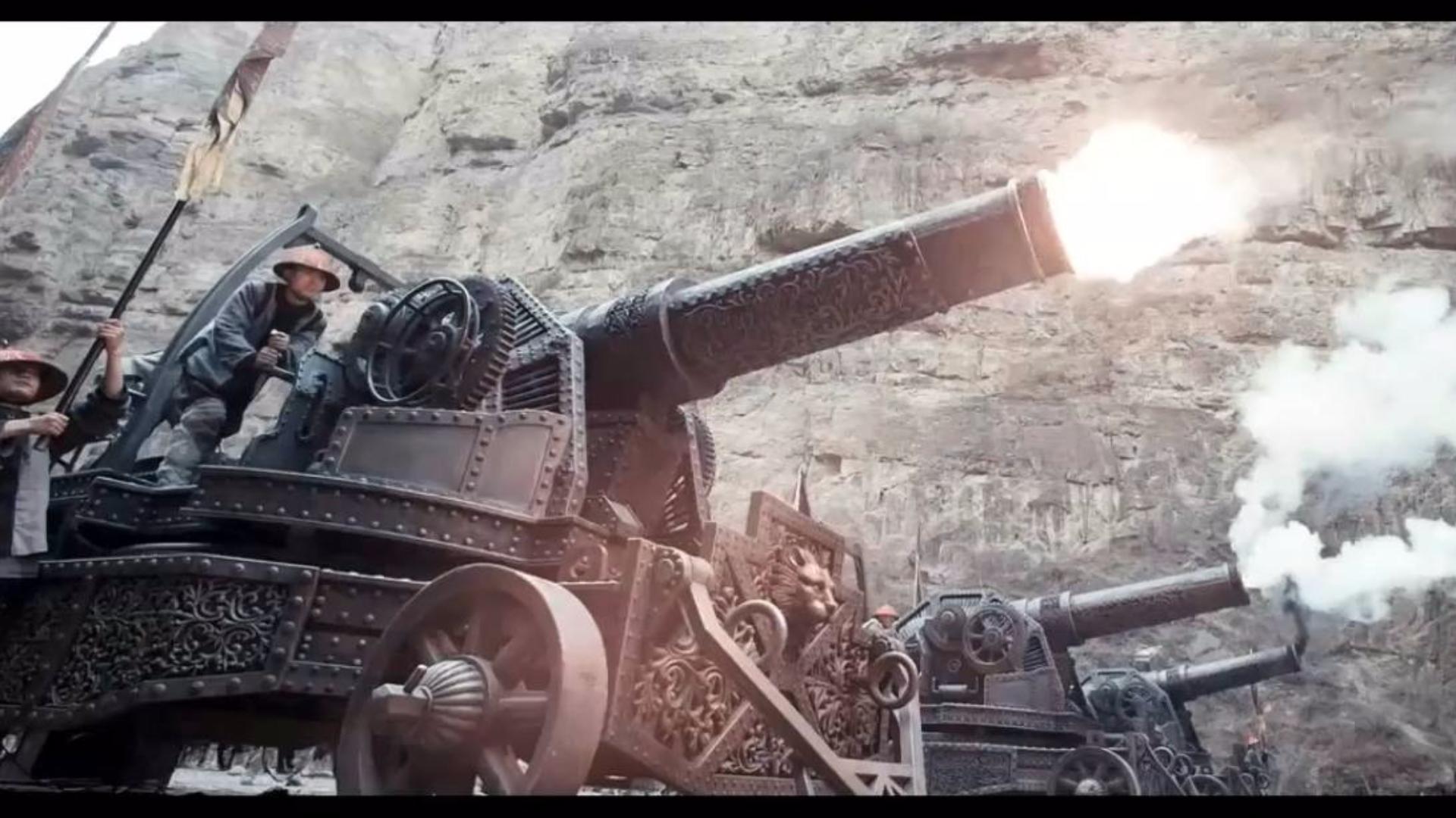 【影视合集】大清朝这毁天灭地的重炮火力,到底是怎么输给英国的?