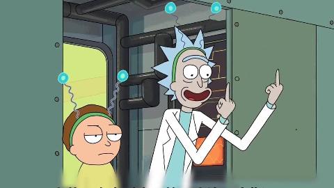 【坏笑影评】瑞克和莫蒂S2E06电池宇宙:妈妈问我为什么跪着看动画