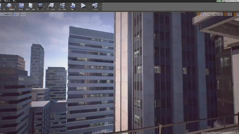 【UE4】Maya与UE4游戏环境场景实例制作大师级教程(无声)