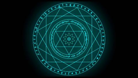 【AE教程】魔法阵预设
