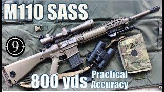 [9-Hole Reviews]使用M110半自动狙击步枪挑战射击800码目标
