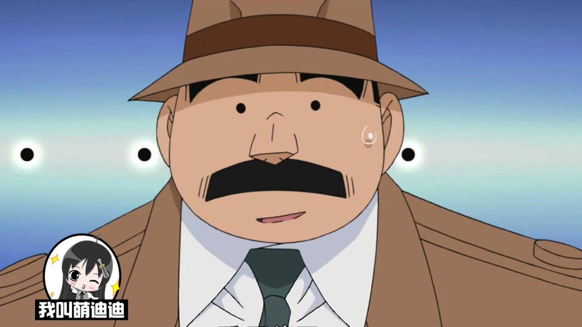 目暮警官没摘过帽子,被少年侦探团怀疑是秃头,却是爱妻子的证据
