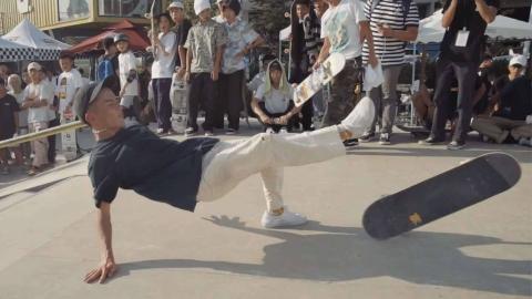 1985滑板-2019 世界滑板日深圳站