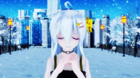 [MMD]Angelite(弱音HAKU)P2竖屏