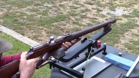 普鲁士德莱塞M1865猎兵型击针枪射击