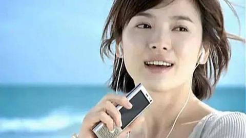 经典的音乐手机广告,音乐比广告更容易记住