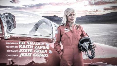 地表最快女车手身亡:曾创下777公里时速