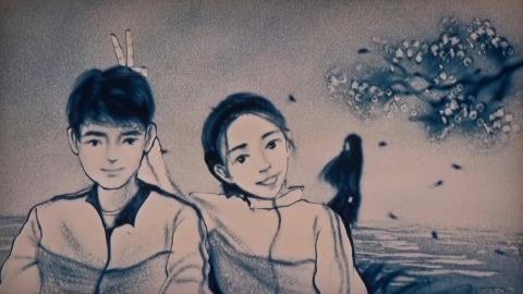 《被风吹过的夏天》金莎和林俊杰的声音真的太经典了