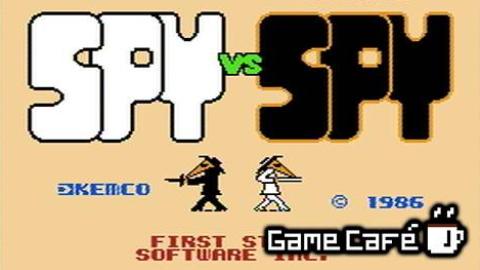 """【游戏咖啡馆】容易引发""""真人PK""""的红白机游戏-谍对谍"""