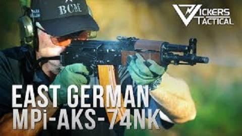 【搬运/已加工字幕】东德MPi-AKS-74NK 突击步枪