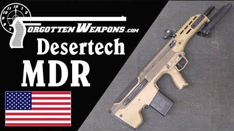 【被遗忘的武器/双语】沙漠科技MDR步枪彻底剖析