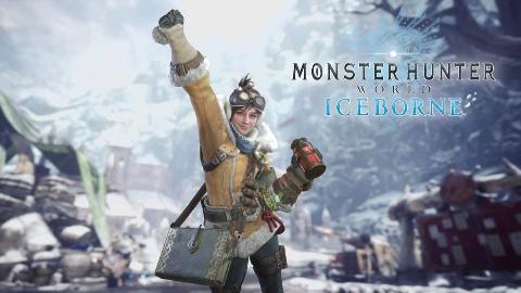 独臂太刀使vs绝对强者轰龙《怪物猎人:世界》冰原Beta测试