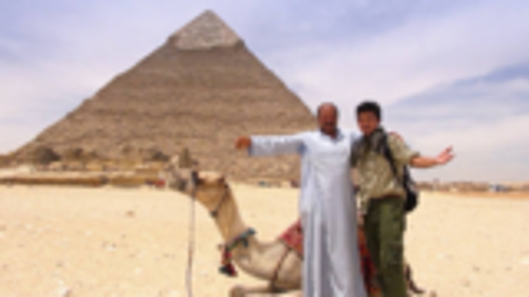 雷探长探秘胡夫金字塔,60层楼高石墙是混凝土做的,是真的吗?