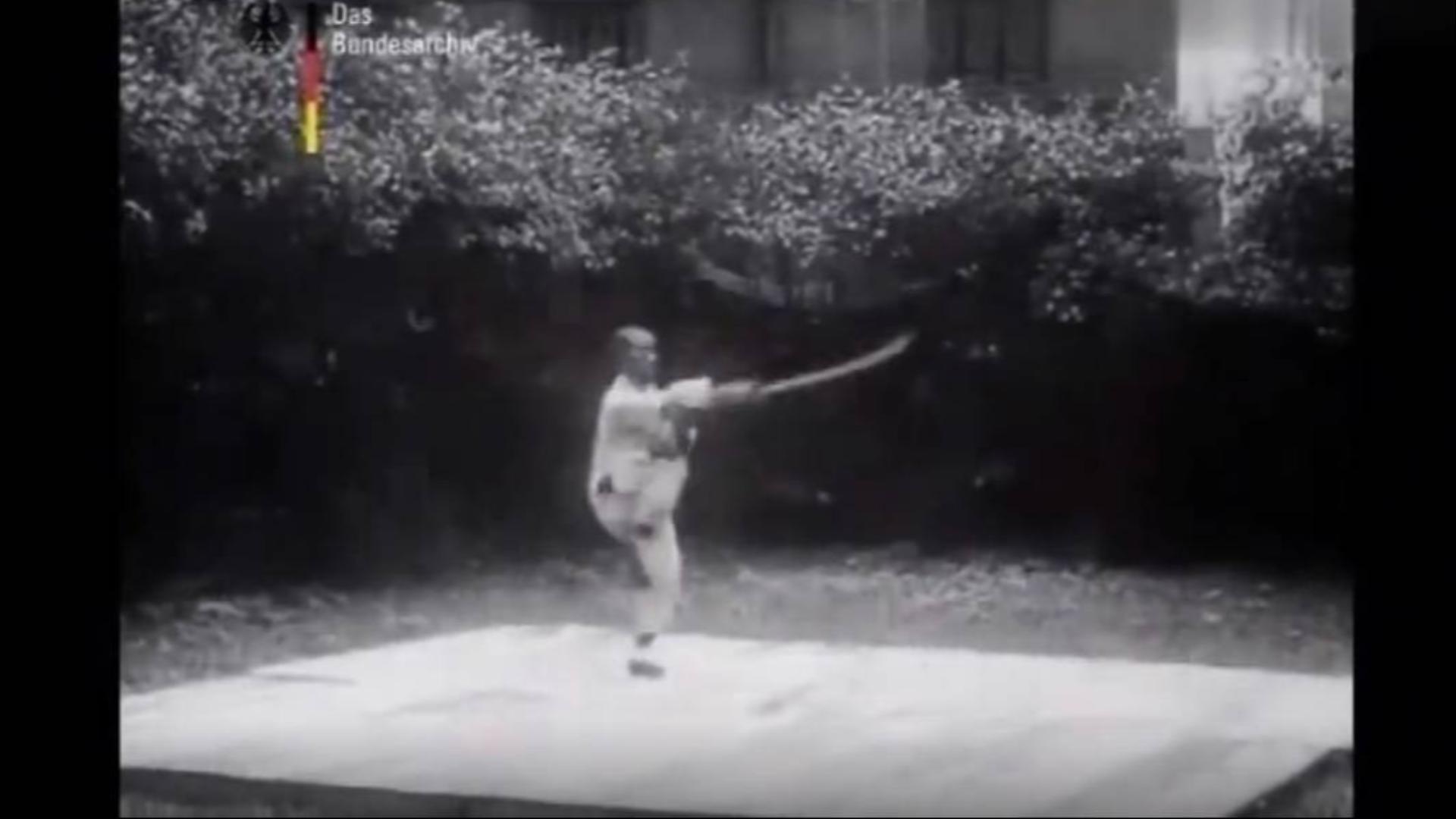 【珍贵影像】100年前德国人拍摄的中国武术纪录片