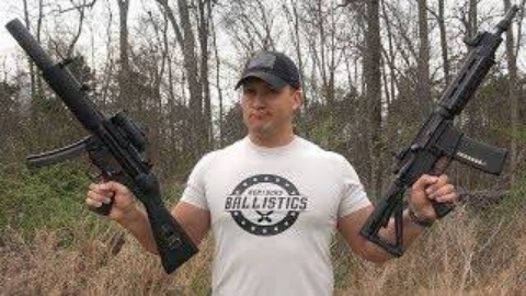 [Kentucky Ballistics]全自动MP5 vs AR-15