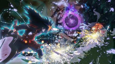 千手柱间VS宇智波斑  「纯打斗」火影系列最爆炸的「终结之战」(完美原声)
