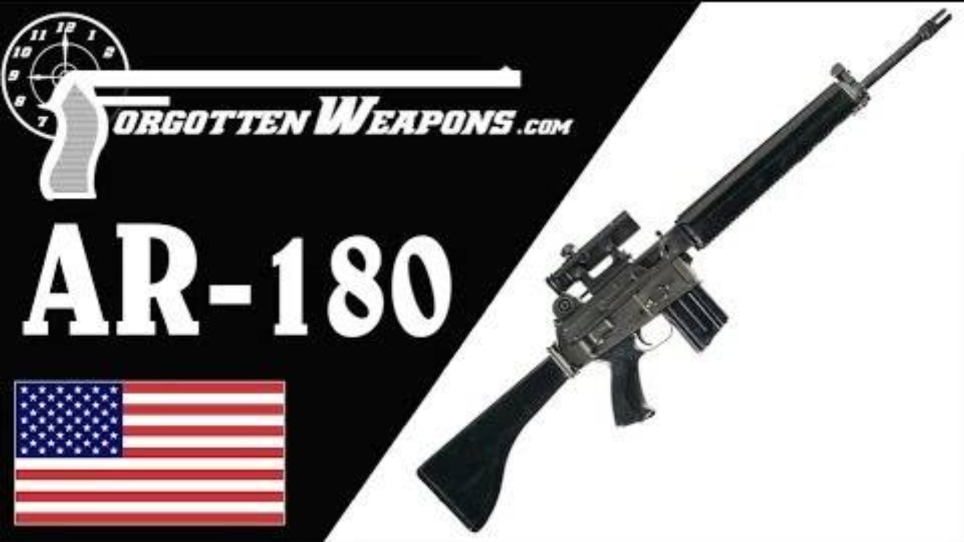 【被遗忘的武器/双语】AR-18与AR-180--阿玛莱特还能再度闪耀吗?
