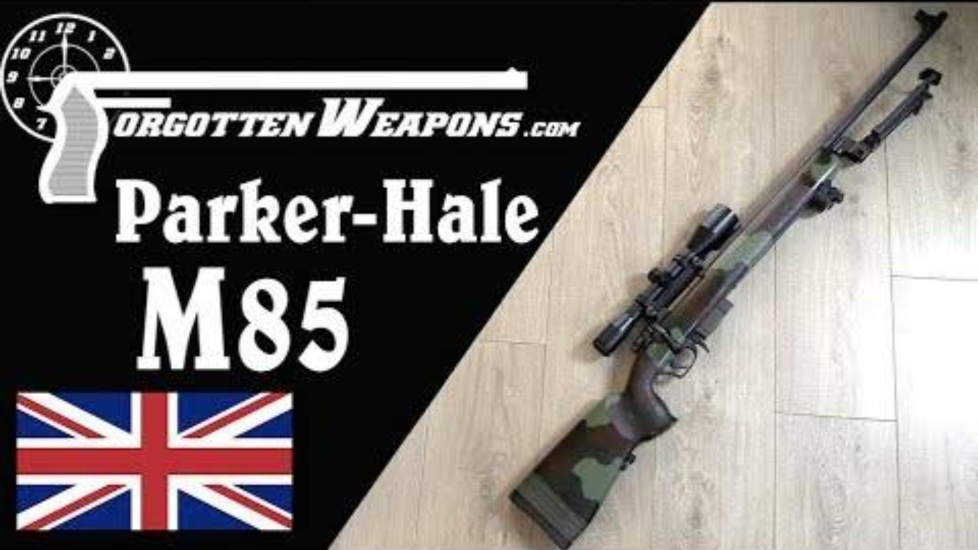 【被遗忘的武器/双语】帕克黑尔M85--现代战争中的传统狙击枪