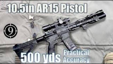 [9-Hole Reviews]使用紧凑式AR-15步枪挑战射击500码目标
