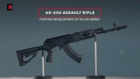 一分钟速看卡拉什尼科夫AK-203突击步枪