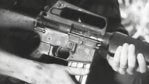 M16A1步枪的野外维护|1968年美国陆军教学片