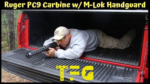 儒格PC9卡宾枪M-lok(凹洞式)导轨护木版