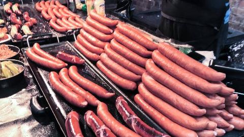 【伦敦街头美食】 - 布里克巷周日市场的大排骨和世界各地的美食