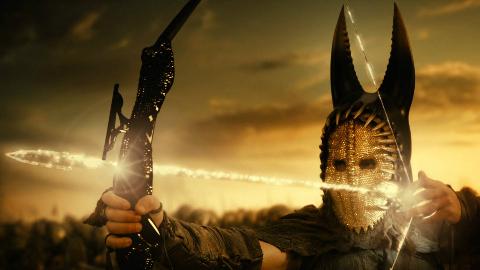 小伙获得一把神弓,一箭射开地狱之门释放恶魔,一部史诗魔幻电影