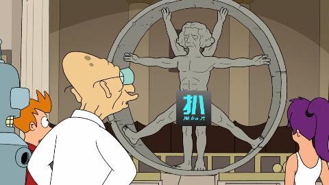 老司机达芬奇,竟是外星人,证据藏在作品里!《飞出个未来》之达芬奇真相