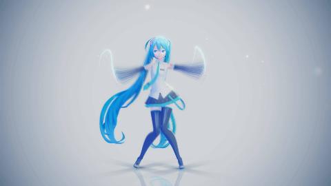【渲染练习】虚拟歌姬也需要想  像  力