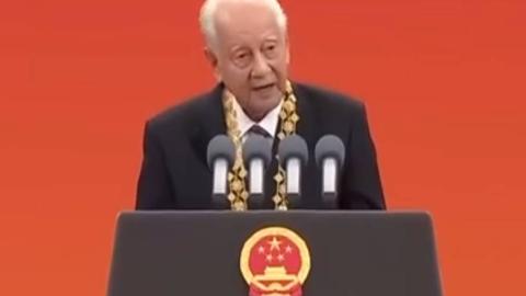 """""""共和国勋章""""获得者,中国核潜艇之父黄旭华!!!"""