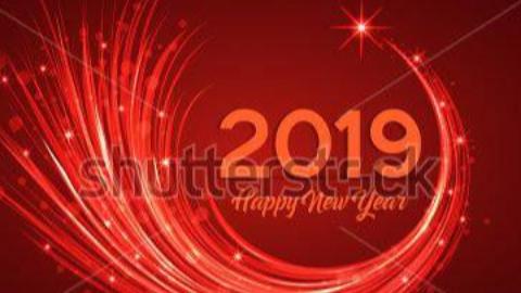 快乐2019,过年好