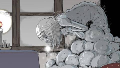 妈妈被怪病感染变成冰雕,女友跌落万丈悬崖瘫痪,史上最惨男主