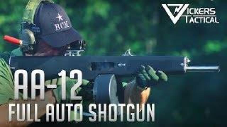 【搬运/已加工字幕】AA-12全自动霰弹枪
