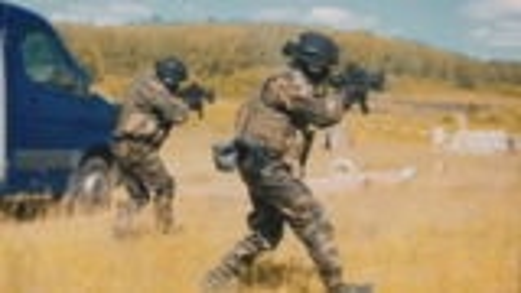 配备三级头!俄罗斯SOBR特警队的MV视频