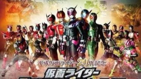 【1080P】全平成假面骑士(2000-2018)主题曲
