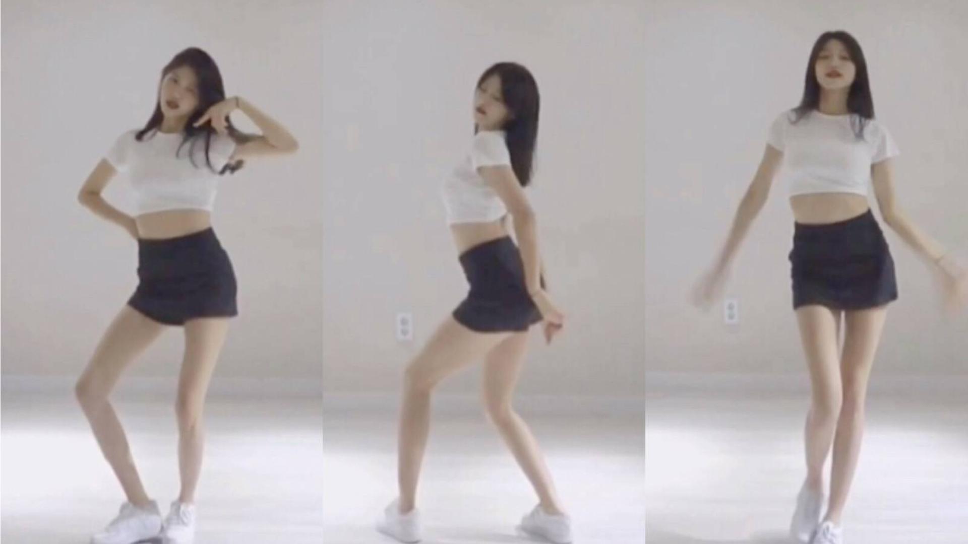 美女小姐姐翻跳blackpink舞曲,短裙很sexy,大长腿身材超好,这么爱跳舞的可爱妹子送福利啦