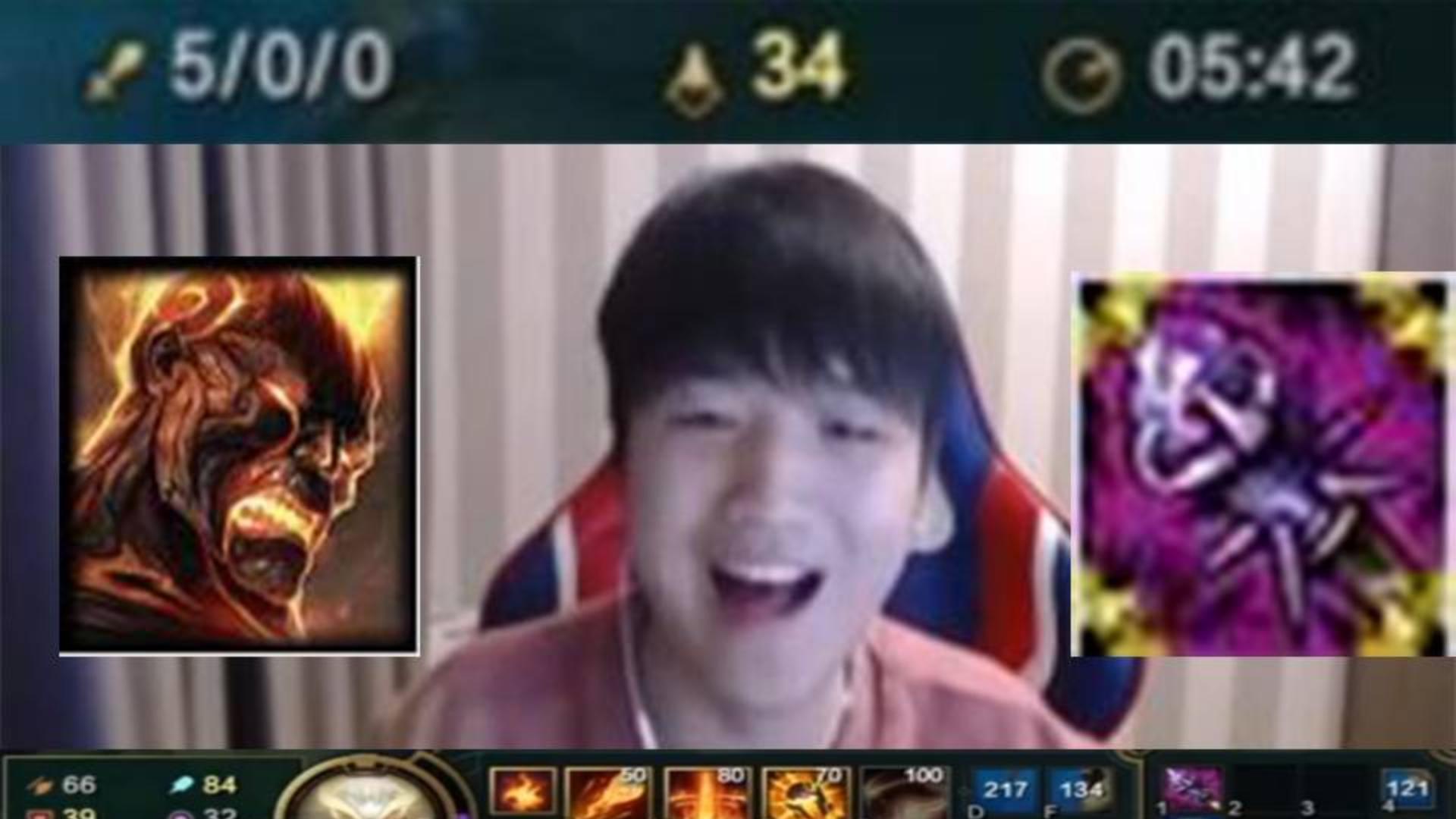 放弃AD后,微笑AP火男打下5分钟出时光究极快乐!
