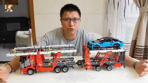 猜猜到底有多长:乐高科技组42098汽车运输卡车评测