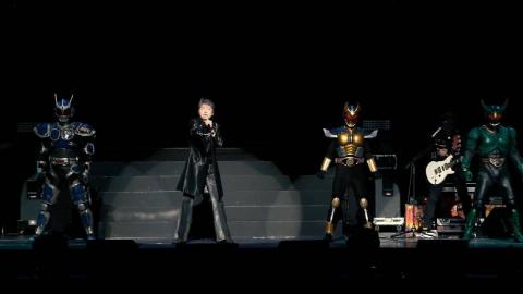 超英雄祭《假面骑士亚极陀》主题曲现场版,三位骑士降临