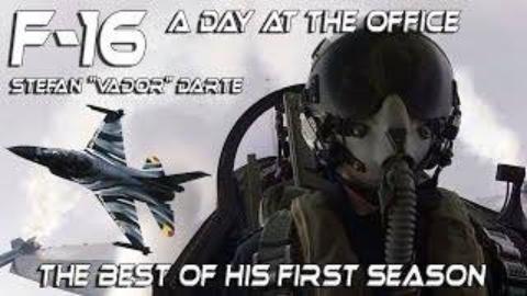 驾驶舱视角看F-16飞行表演