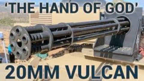 [GUNSCOM]维加斯战场射击场上的M61火神式机炮
