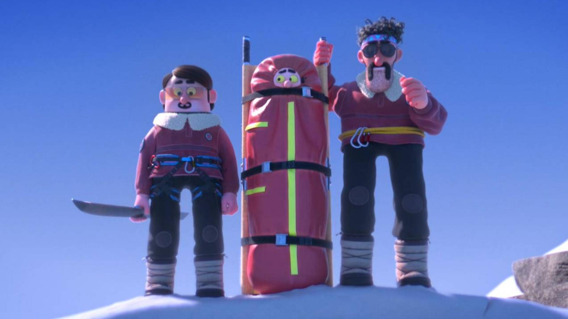 搞笑动画短片《沙雕救援队》