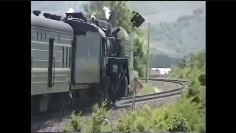 【中国铁路之美】1995年中国东北 牡丹江-图们 前进型蒸汽机车牵引普通旅客列车之旅【搬运】