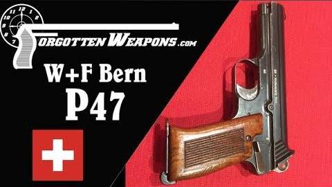 【被遗忘的武器/双语】瑞士伯尔尼兵工厂P47型气体延迟试验手枪拆解