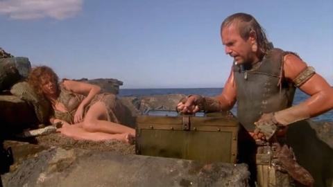 未来世界人类生活在海上,只要有一罐泥土,妹子可以任你挑选!