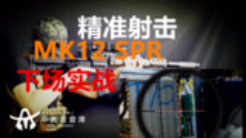 【TA.TAC】(水弹枪/WARGAME)光瞄搭配MK12SPR精确射手步枪款下场?精准压制